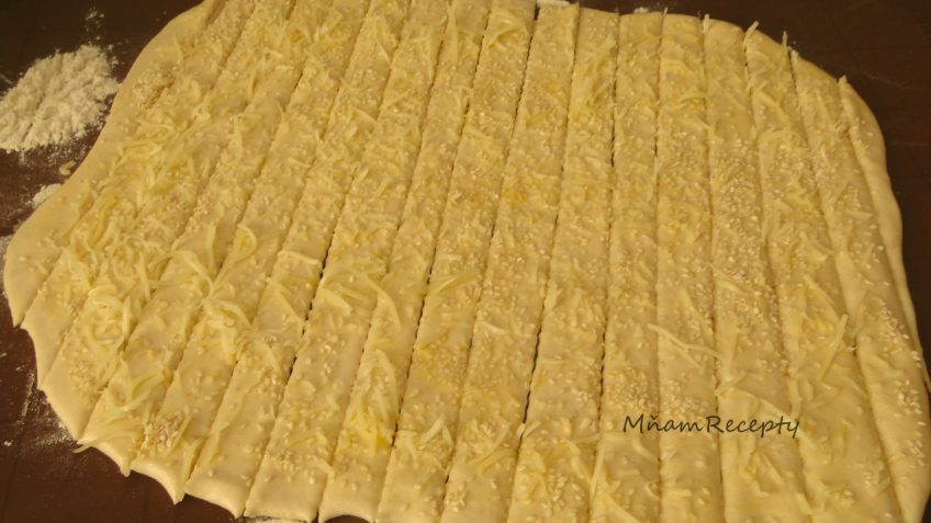 slané tyčinky z ražného kvásku
