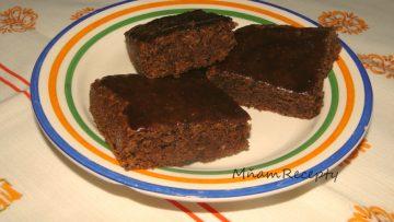 čokoládovo-smotanový koláč