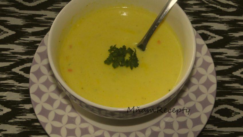 polievka zo sladkých zemiakov