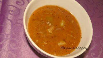 guláľová polievka z bravčového mäsa